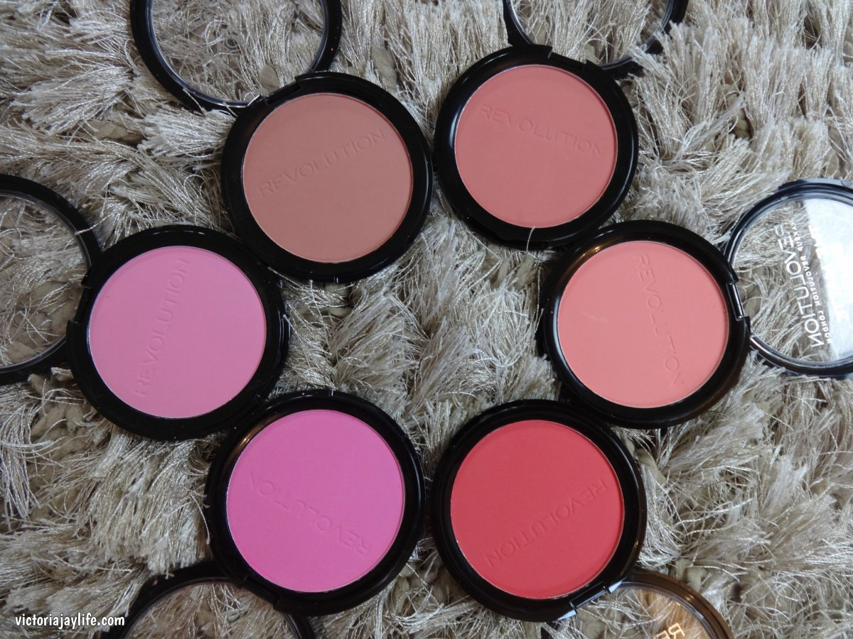 The Matte Blush from Makeup Revolution