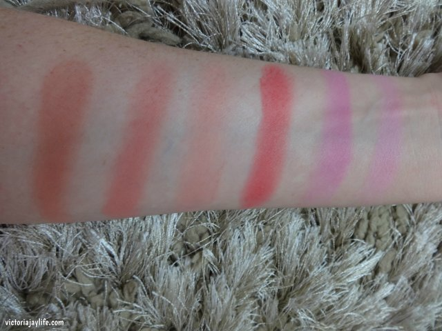 Nude, Fusion, Beloved, New Rules, Dare, Divine (L-R)