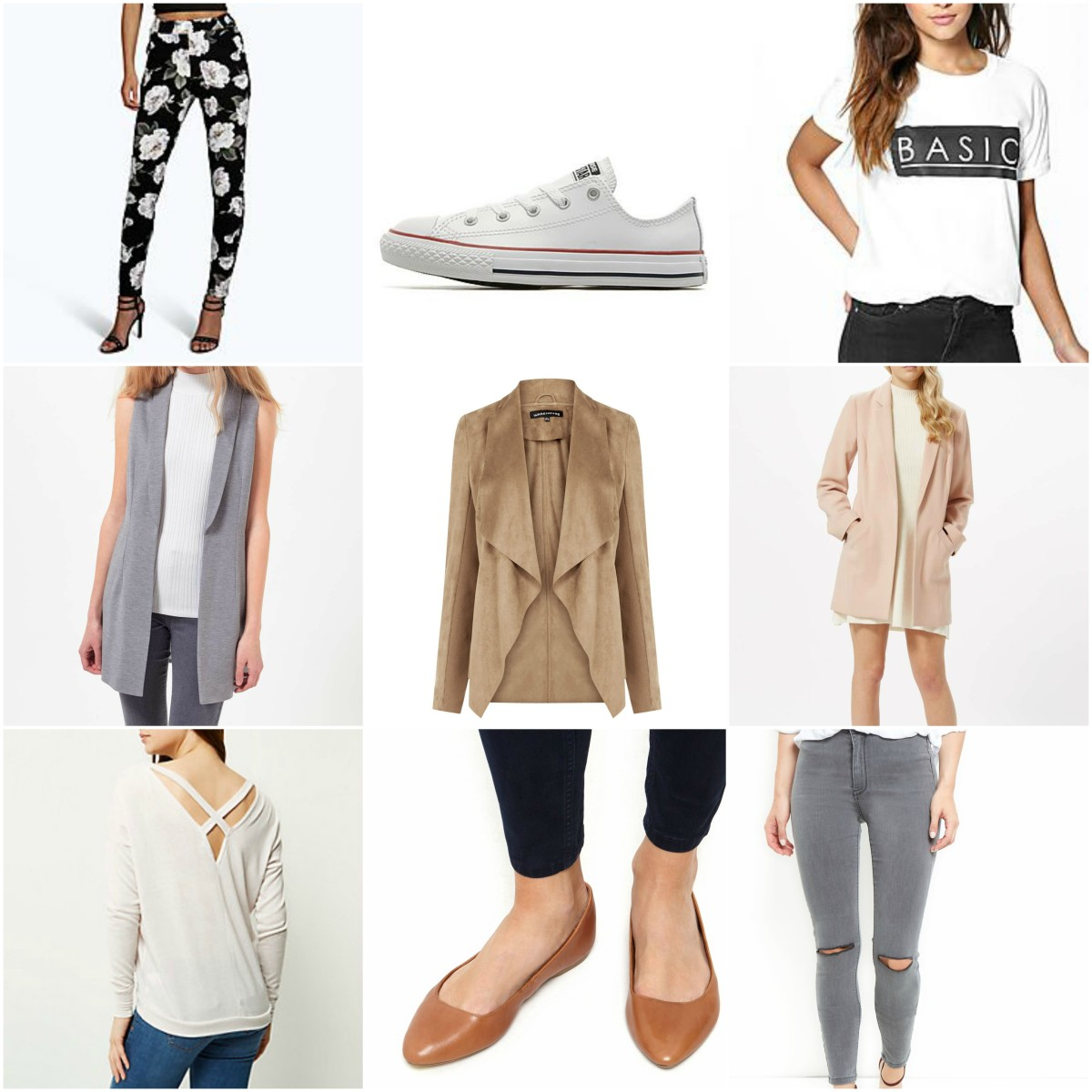 My Capsule Wardrobe: The Winter to Spring transition